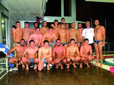 Equip absolut de la UE Horta, campió de la Segona Divisió 2012-13