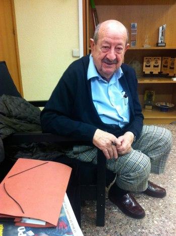 Juan Antonio Sierra a la Federació Catalana de Natació